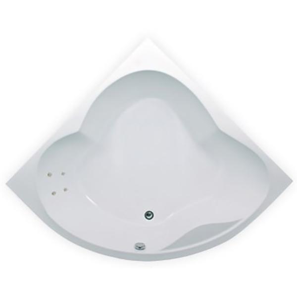 Акриловая ванна 1MarKa Cassandra 140х140 без гидромассажа изображена на фото
