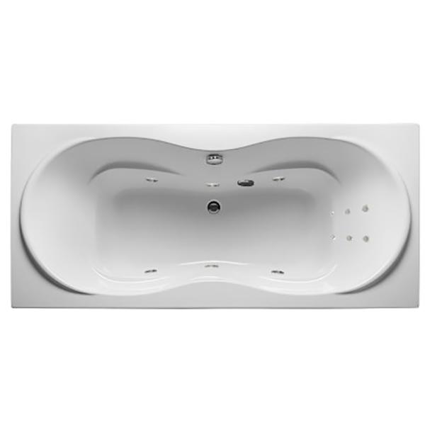 Акриловая ванна 1MarKa Dinamica 180х80 без гидромассажа изображена на фото