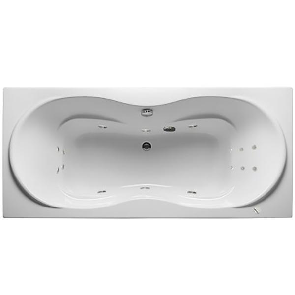 Акриловая ванна 1MarKa Dinamica 180х80 без гидромассажа в интерьере.