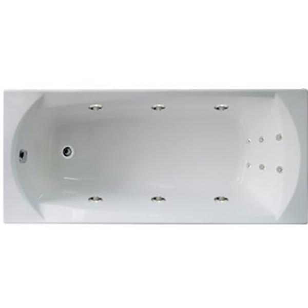 Акриловая ванна 1MarKa Elegance 165х70 без гидромассажа изображена на фото