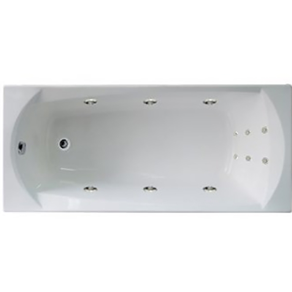 Акриловая ванна 1MarKa Elegance 170х70 без гидромассажа изображена на фото