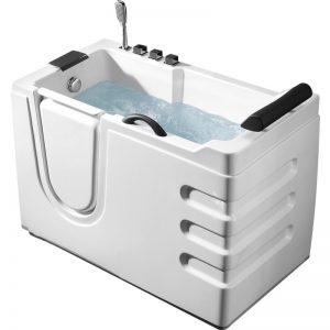Фото товара Акриловая ванна Abber AB9000 C L 130х70 без гидромассажа.