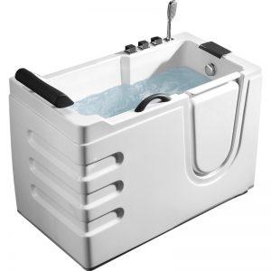 Фото товара Акриловая ванна Abber AB9000 C R 130х70 без гидромассажа.
