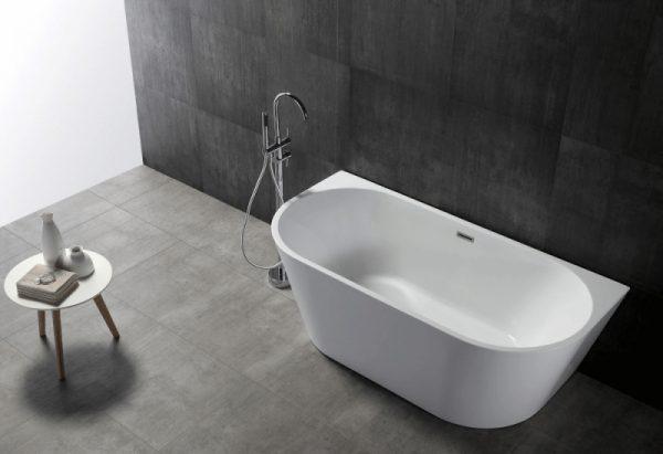 Акриловая ванна Abber AB9216-1.5 150х80 без гидромассажа изображена на фото