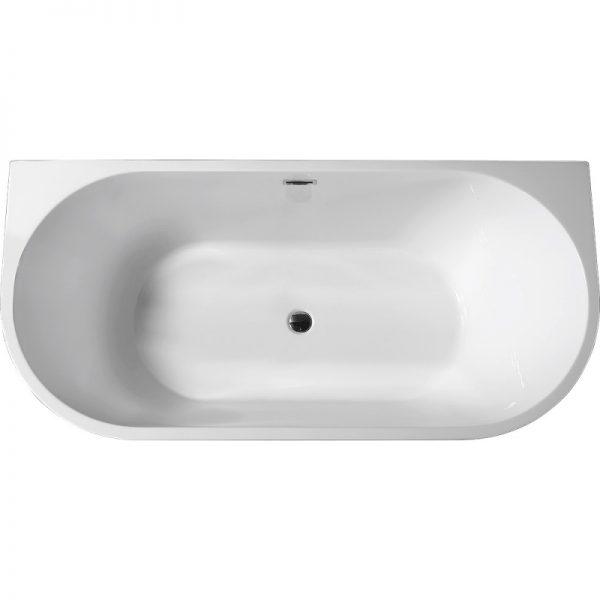 Акриловая ванна Abber AB9216-1.7B 170х80 без гидромассажа доступна к покупке по выгодной цене.