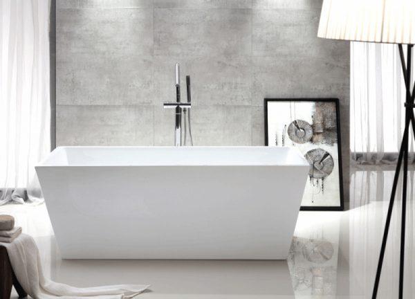 Акриловая ванна Abber AB9224-1.5 150х80 без гидромассажа изображена на фото