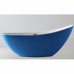 Фото товара Акриловая ванна Abber AB9233DB 184х79 без гидромассажа.