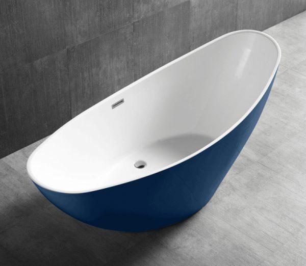 Акриловая ванна Abber AB9233DB 184х79 без гидромассажа изображена на фото
