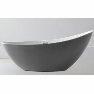 Фото товара Акриловая ванна Abber AB9233G 184х79 без гидромассажа.