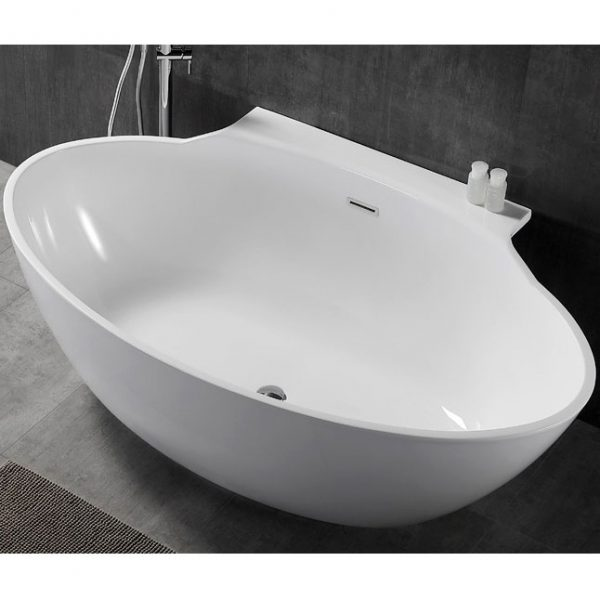 Фото товара Акриловая ванна Abber AB9237 172х103 без гидромассажа.
