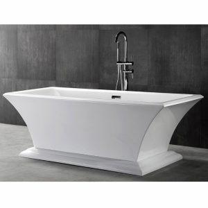 Фото товара Акриловая ванна Abber AB9238 170х80 без гидромассажа.
