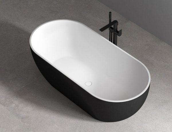 Акриловая ванна Abber AB9241B 172х79 без гидромассажа изображена на фото
