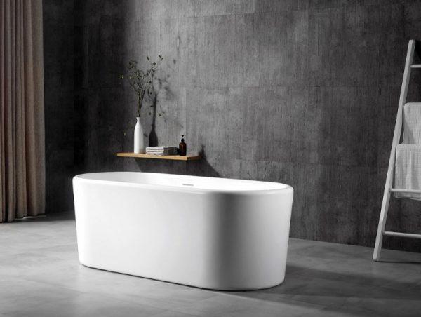 Акриловая ванна Abber AB9272-1.7 170х70 без гидромассажа изображена на фото