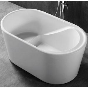 Фото товара Акриловая ванна Abber AB9277 130х75 без гидромассажа.
