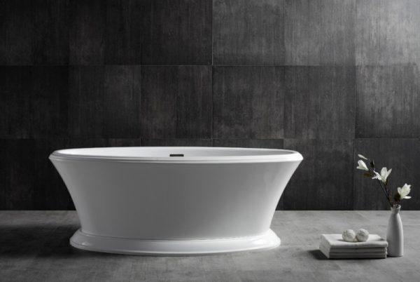 Акриловая ванна Abber AB9289 170х80 без гидромассажа изображена на фото
