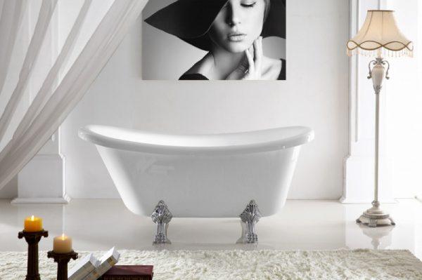 Акриловая ванна Abber AB9293 170х75 без гидромассажа изображена на фото