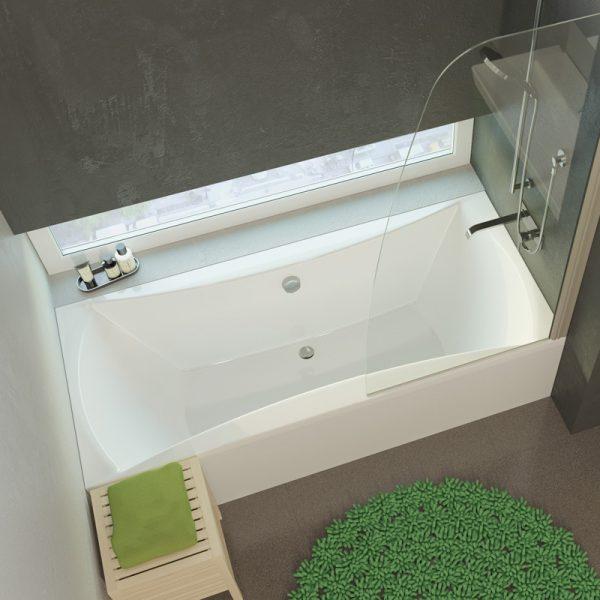 Фото товара Акриловая ванна Alpen Luna 200 цвет белый.