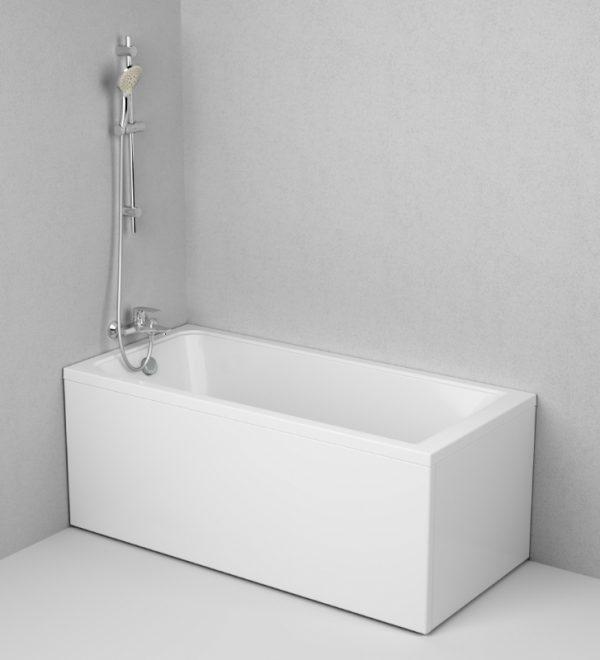 Акриловая ванна AM.PM Gem 150х70 без гидромассажа доступна к покупке по выгодной цене.