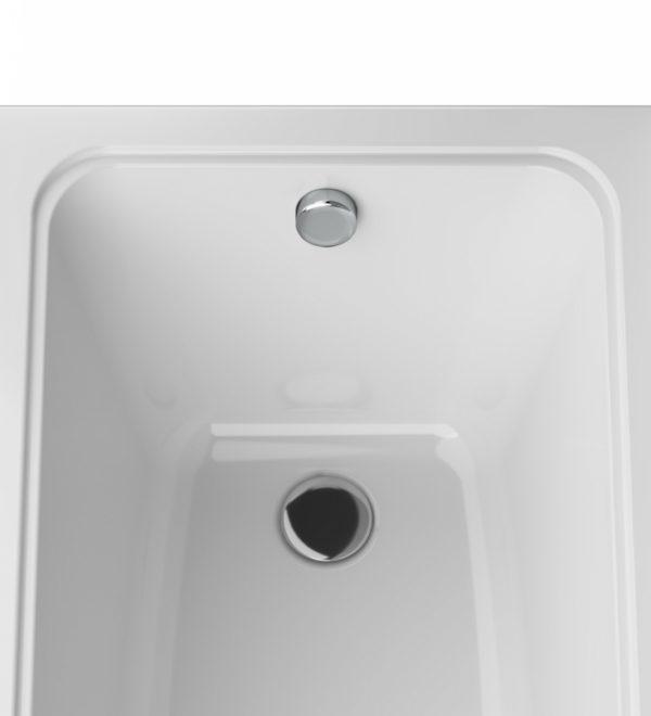 Акриловая ванна AM.PM Gem 150х70 без гидромассажа в ванной комнате.