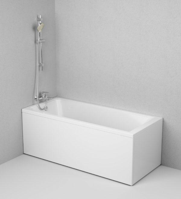 Акриловая ванна AM.PM Gem 160х70 W90A-160-070W-A без гидромассажа доступна к покупке по выгодной цене.