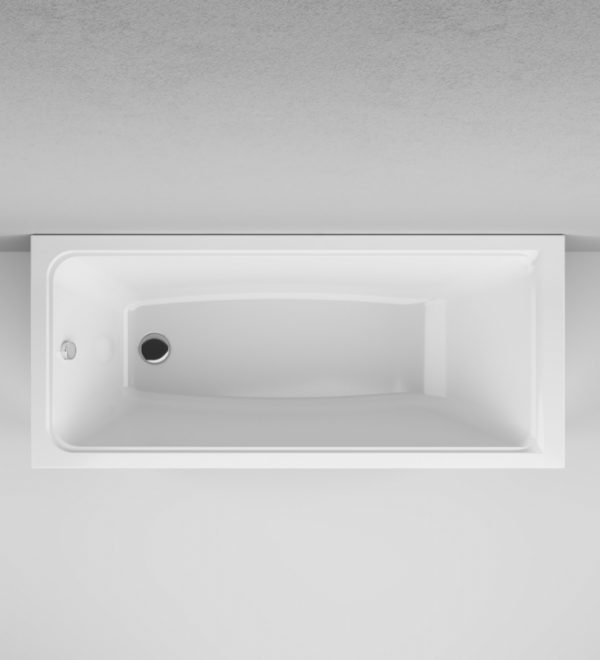 Акриловая ванна AM.PM Gem 160х70 W90A-160-070W-A без гидромассажа изображена на фото