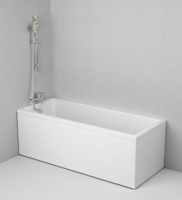 Акриловая ванна AM.PM Gem 170х70 без гидромассажа доступна к покупке по выгодной цене.