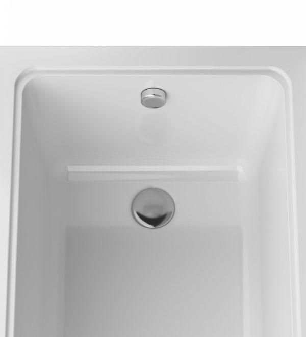 Акриловая ванна AM.PM Gem 170х70 без гидромассажа в ванной комнате.