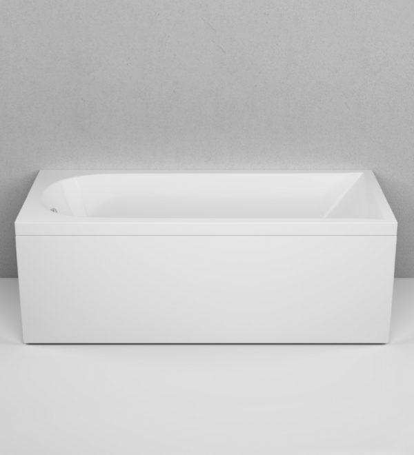 Акриловая ванна AM.PM Inspire 170х75 без гидромассажа в интерьере.