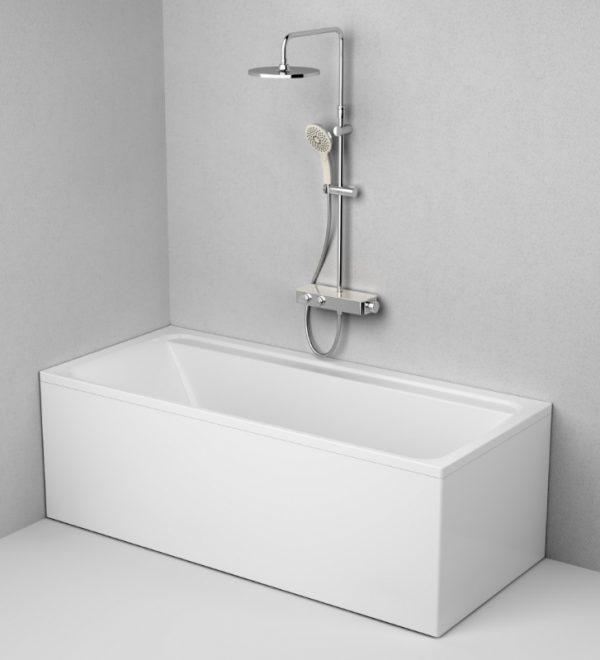 Акриловая ванна AM.PM Inspire V2.0 180х80 без гидромассажа доступна к покупке по выгодной цене.