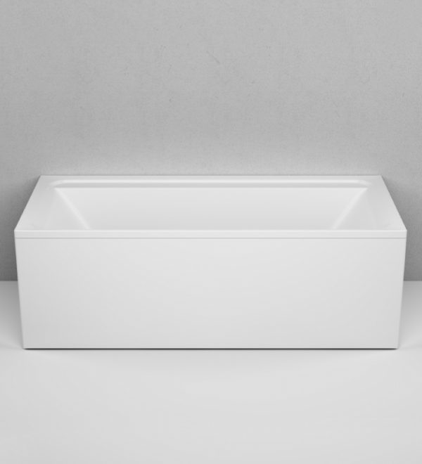 Акриловая ванна AM.PM Inspire V2.0 180х80 без гидромассажа в интерьере.