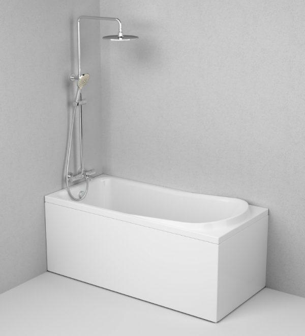 Акриловая ванна AM.PM Like 150х70 без гидромассажа доступна к покупке по выгодной цене.