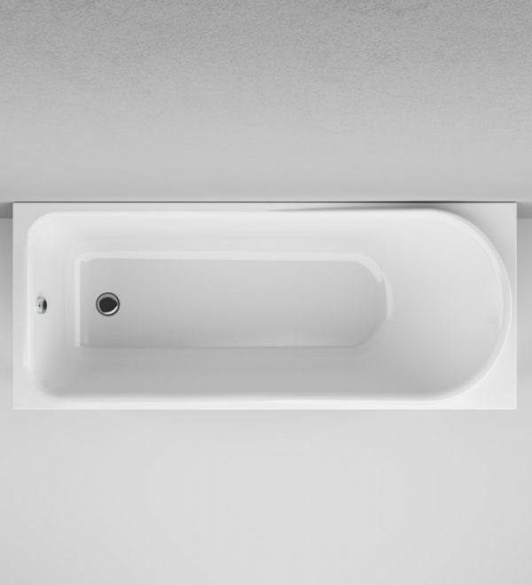 Акриловая ванна AM.PM Like 170х70 без гидромассажа изображена на фото