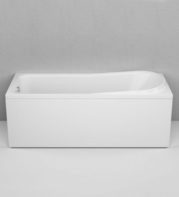 Акриловая ванна AM.PM Like 170х70 без гидромассажа в интерьере.