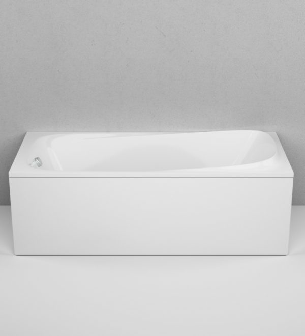 Акриловая ванна AM.PM Sensation 170х75 без гидромассажа в интерьере.