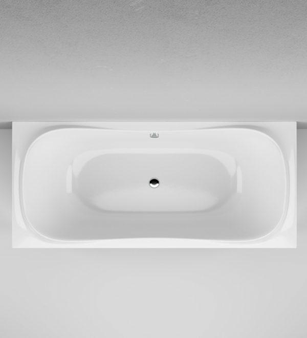 Акриловая ванна AM.PM Sensation 180х80х68 без гидромассажа изображена на фото