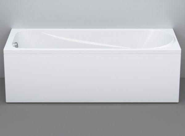 Акриловая ванна AM.PM Sense 150х70 W75A-150-070W-KL без гидромассажа изображена на фото