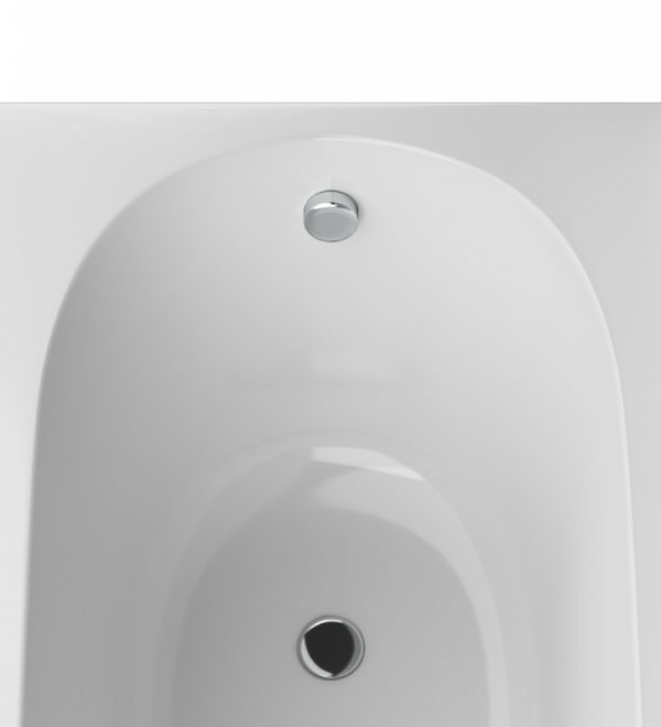 Акриловая ванна AM.PM Spirit 150х70 без гидромассажа в ванной комнате.