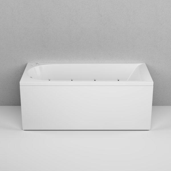 Акриловая ванна AM.PM Spirit Evo 150х70 с гидромассажем в ванной комнате.