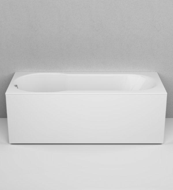 Акриловая ванна AM.PM X-Joy 170х70 W88A-170-070W-A без гидромассажа в интерьере.