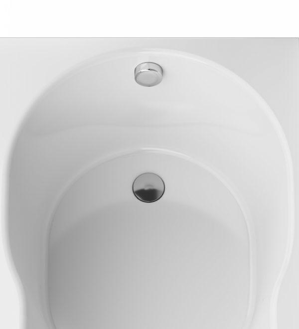 Акриловая ванна AM.PM X-Joy 170х70 W88A-170-070W-A без гидромассажа в ванной комнате.