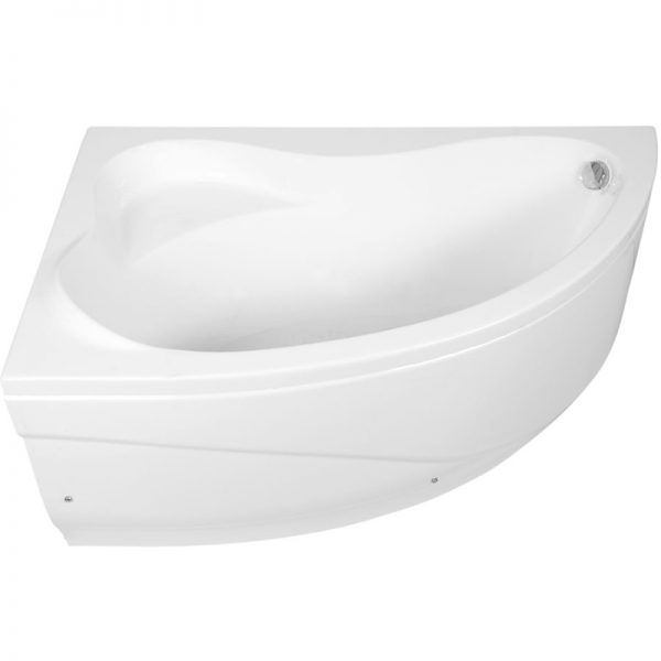 Акриловая ванна Aquanet Atlanta 150х90 без гидромассажа L изображена на фото