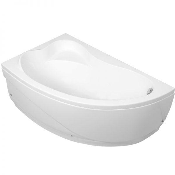 Акриловая ванна Aquanet Atlanta 150х90 без гидромассажа L в интерьере.