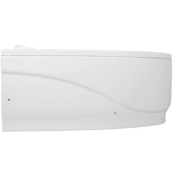 Акриловая ванна Aquanet Atlanta 150х90 без гидромассажа L в ванной комнате.