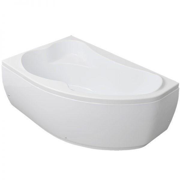 Акриловая ванна Aquanet Capri 170х110 без гидромассажа L изображена на фото