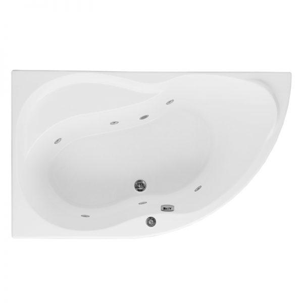 Акриловая ванна Aquanet Graciosa 150х90 без гидромассажа L доступна к покупке по выгодной цене.