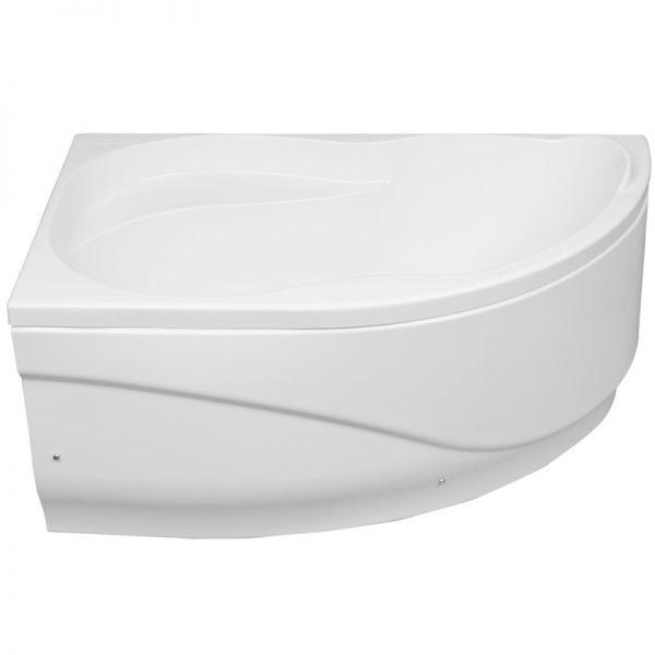 Акриловая ванна Aquanet Graciosa 150х90 без гидромассажа L в интерьере.
