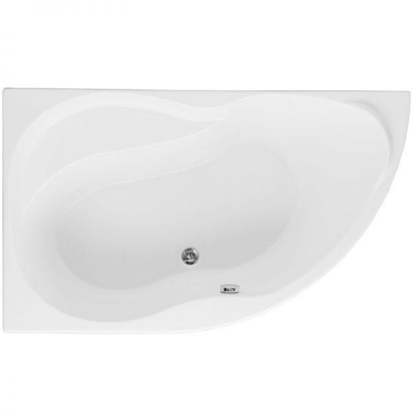 Фото товара Акриловая ванна Aquanet Graciosa 150х90 без гидромассажа L.