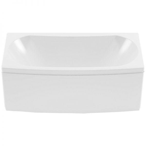 Акриловая ванна Aquanet Izabella 160х75 без гидромассажа изображена на фото