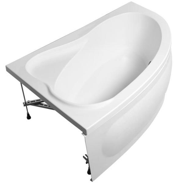 Акриловая ванна Aquanet Luna 155х100 без гидромассажа L доступна к покупке по выгодной цене.