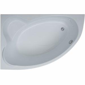 Фото товара Акриловая ванна Aquanet Lyra 150х100 L 00254757 без гидромассажа.